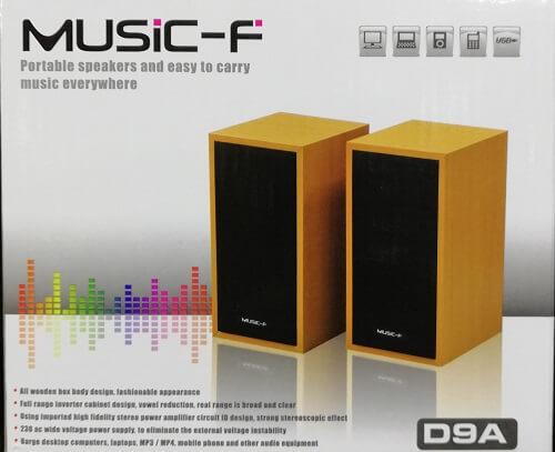 Music-F D9A Multimedia Speakers